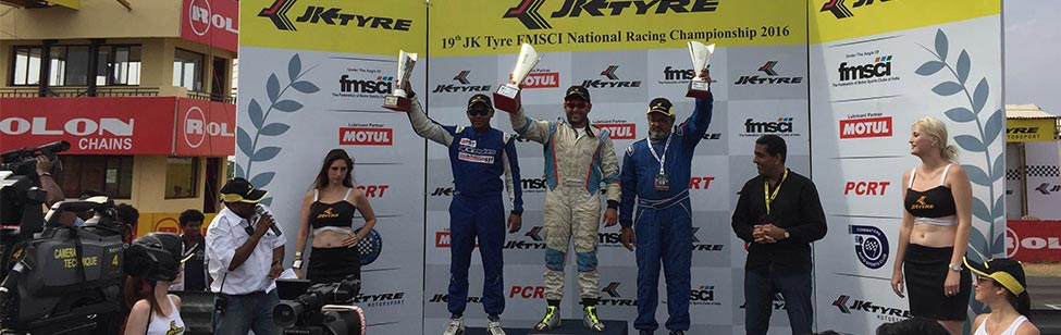 JK Tyre National Championship 2016 in September