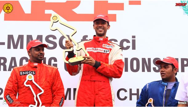 2nd round of MRF MMSC FMSCI Indian National Racing Championship
